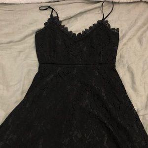 BB Dakota Black Lace Dress